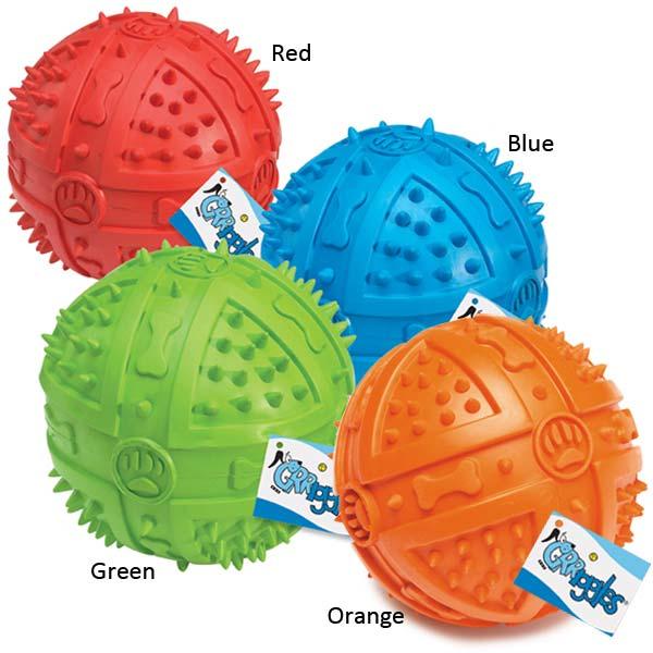 Grriggles Chompy Romper Squeak Ball