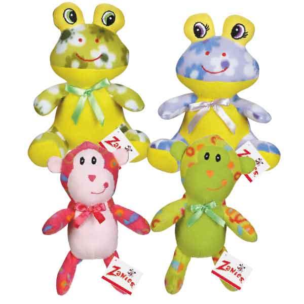 Frog Fleece Cuddler by Zanies