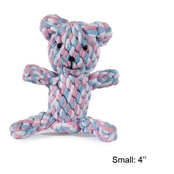 Zanies Rope Bear Toy