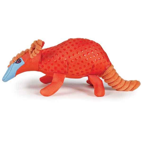 Zanies Freckle Friend Armadillo Dog Toy