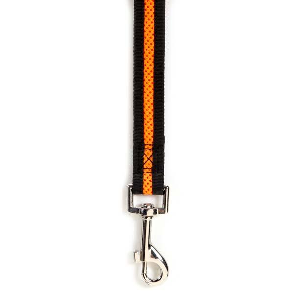 ZA892 45 69 ZA006 Casual Canine Dog Lead Orange